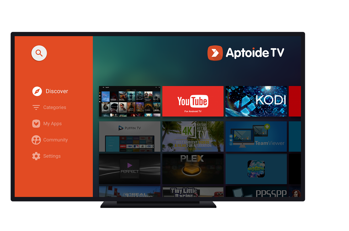 Aptoide Tv Your Independent App Store For Android Tv And Set Top Boxes